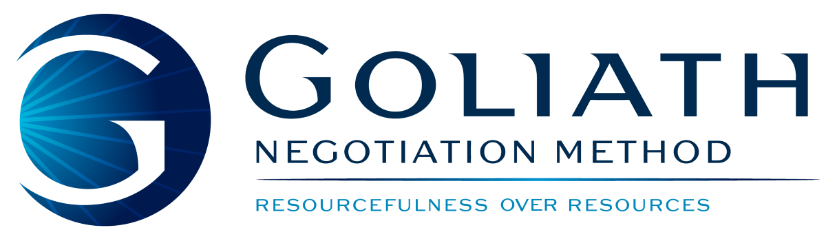 Goliath Negotiation Method