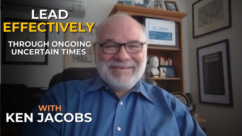 Ken Jacobs Lead Uncertain Times