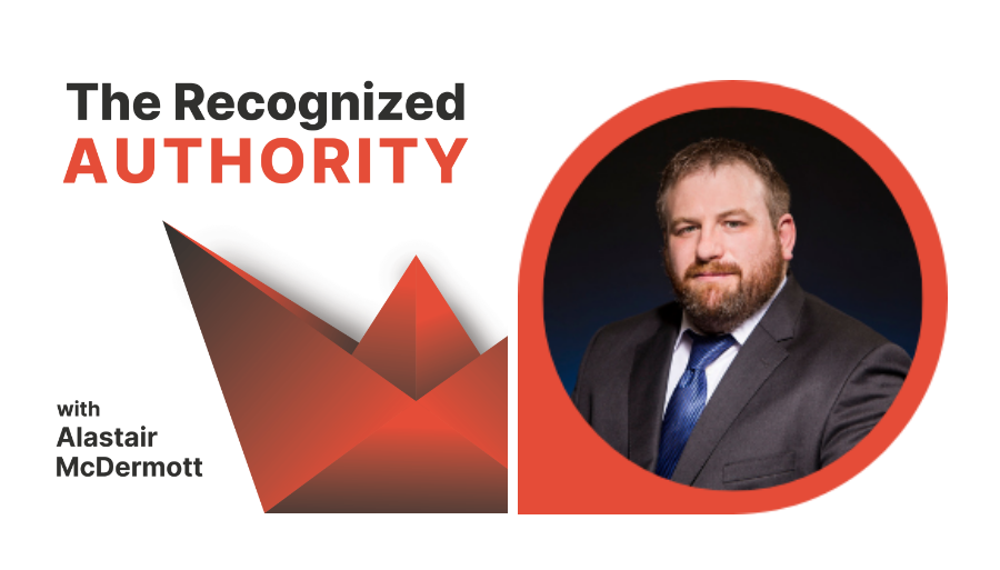 Read more about the article Why become the Recognized Authority? Alastair McDermott Rebrands for his new podcast